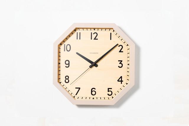 掛け時計 OCTAGON CLOCK 【GRAY】