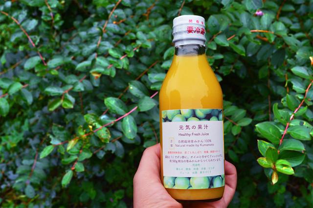 【自然栽培青みかん100%】3本セット 『元気の果汁』200ml ※お得なセット販売あり