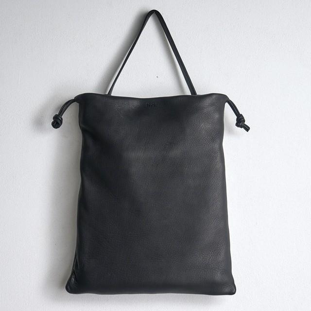 mochi モチ ディアスキン 巾着トートバッグ drawstring bag (m)