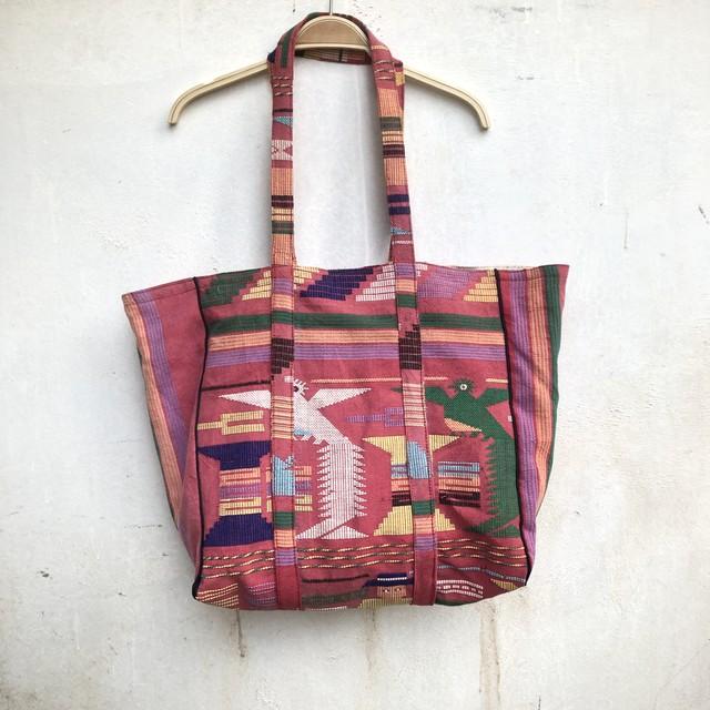 saruche Vintage マヤテキスタイルのトートbag