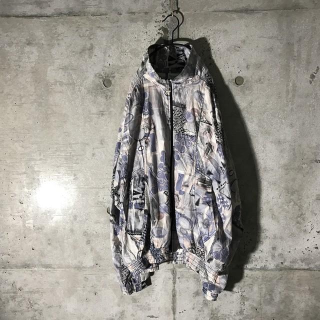 [used] thin purple designed jacket