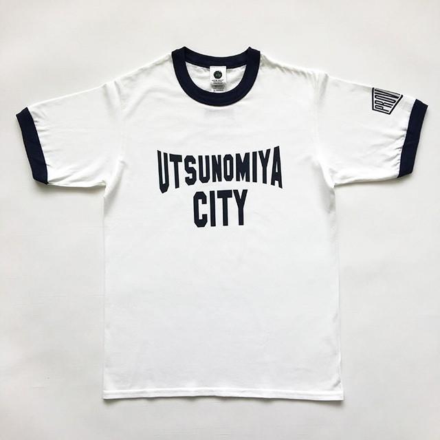 Tシャツ 栃木 宇都宮 UTSUNOMIYA CITY ネイビー