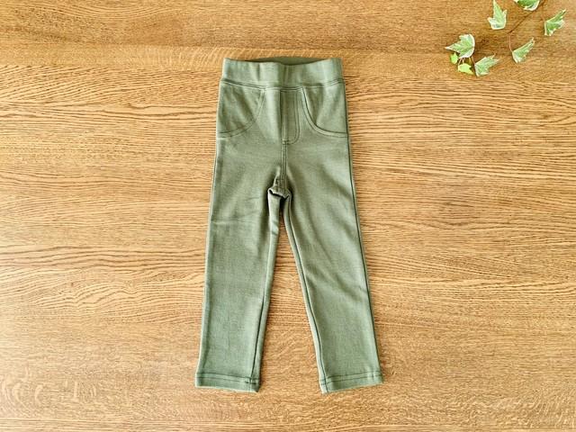 ちょうちょ柄のジャンパースカート 90cm 日本製