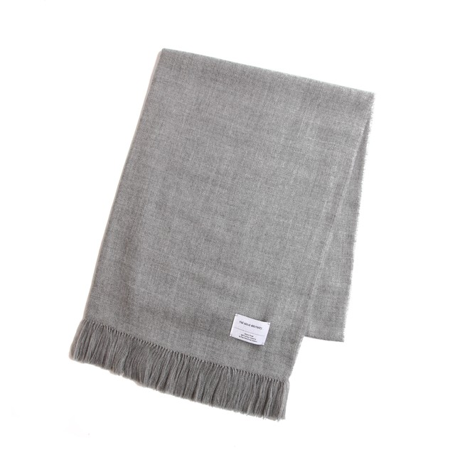 THE INOUE BROTHERS/Woven Stole/Light Grey