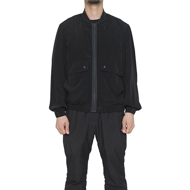 Best Pack Rayon travel blouson Black BP18S-BL01B