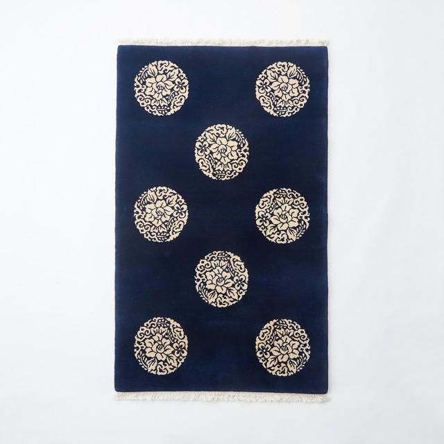 NO.9D 丸花紋    (91×152)