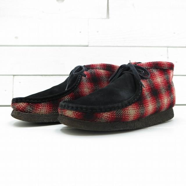 CLARKS × WOOLRICH クラークス × ウールリッチ WALLABEE ワラビー ブーツ コラボ 27cm
