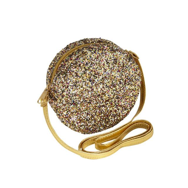 «即納» MIMI&LULA Lula round glitter bag グリターバッグ