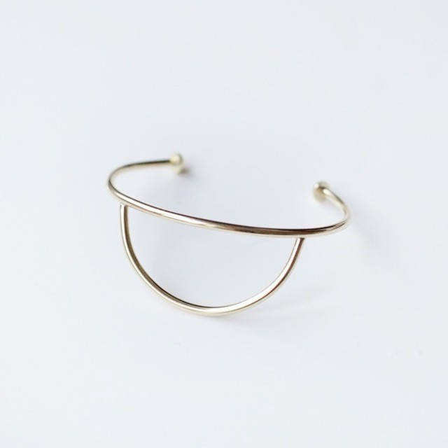 "【SALE ""アトリエ市""】ANOTHER FEATHER / CURVE CUFF"