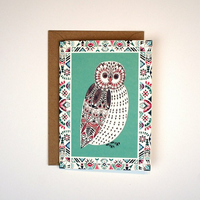 Greeting Card - Owl