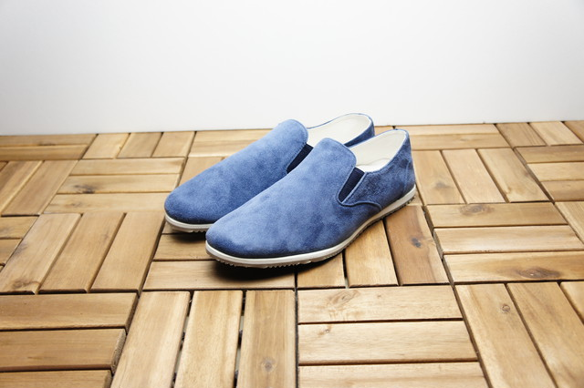 SIDE GORE SLIP-ON (SUEDE)