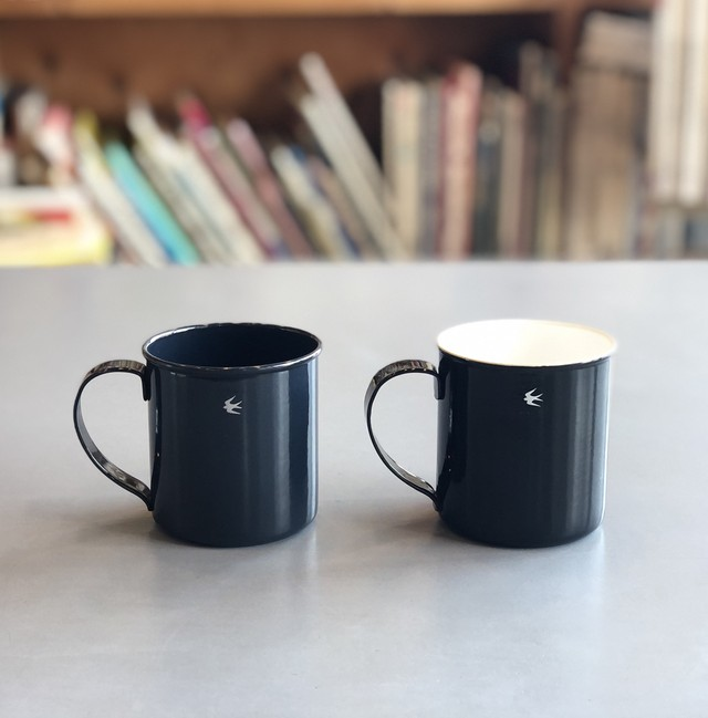 [GLOCAL STANDARD PRODUCTS] TSUBAME mug M (NV / BK)