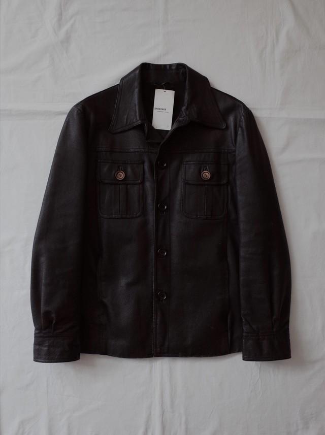 Used Leather shirt