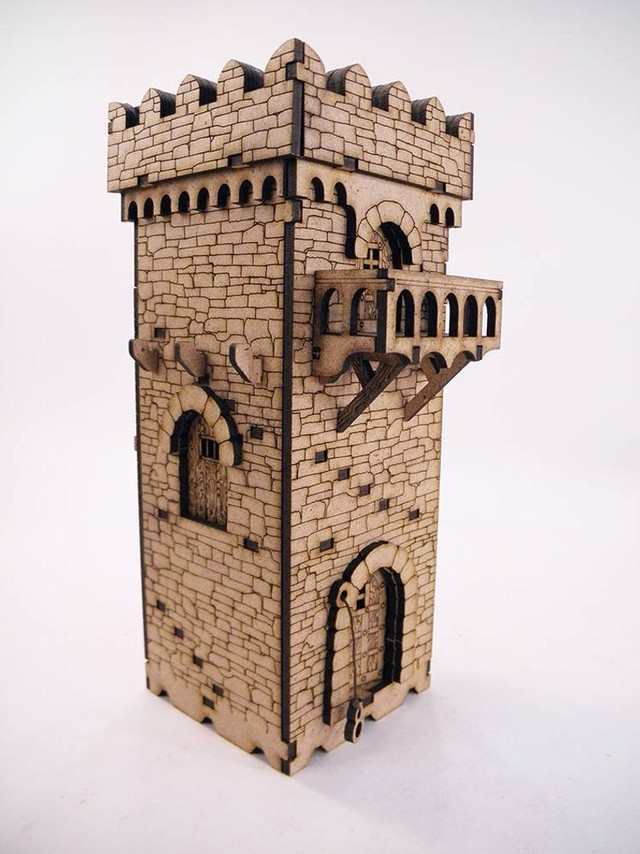 ウクライナダンジョン Dark Tower(Deep Dark Dungeons Terrain)
