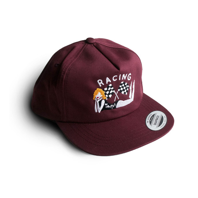 RACING FLAG CAP MALOON