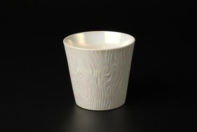 ラスターフリーカップ(白) 有田焼
