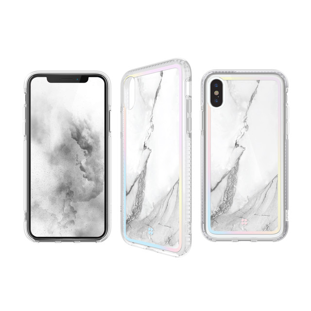 CaseStudi ( ケーススタディ ) iPhone XS / X / XR / XS Max  PRISMART Case 2018 Marble White 耐衝撃 ケース