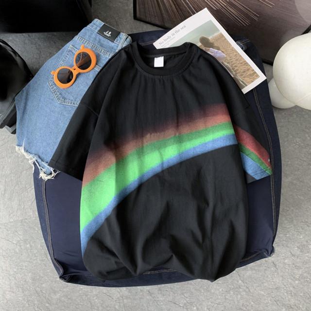 レインボーデザイン・半袖Tシャツ