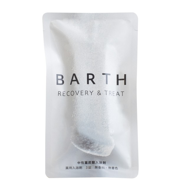 BARTH 中性重炭酸入浴剤3錠