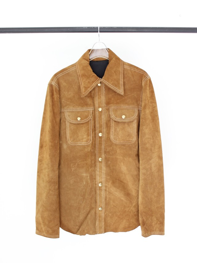Used Legather shirt jacket