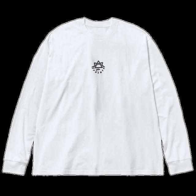 Mandala No.002 ビッグシルエットTシャツ ホワイト