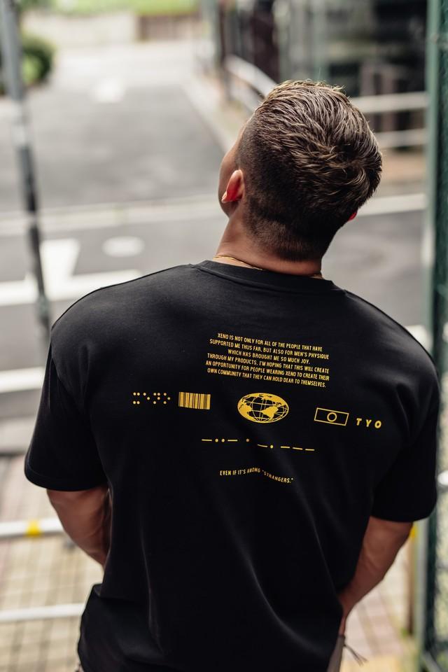 XENO UNIVERSAL CONCEPT T-shirt BlackYellow