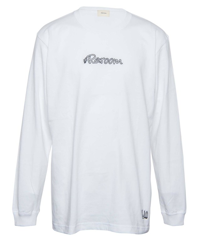 EMBROIDERY LOGO LONG SLEEVE[REC334]