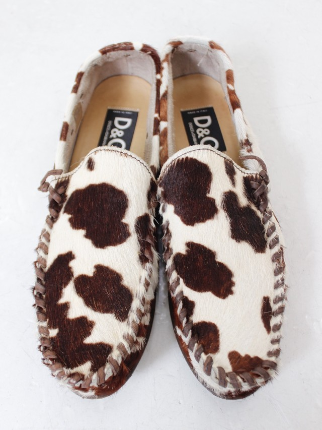 Used DOLCE&GABBANA Moccasin shoes