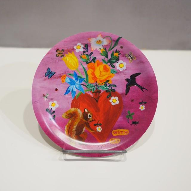 Nathalie Lete Heart&Squirrel Mini Tray