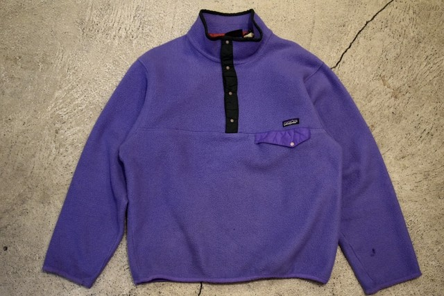 USED 90s patagonia Synchilla Snap-T -Medium F0615