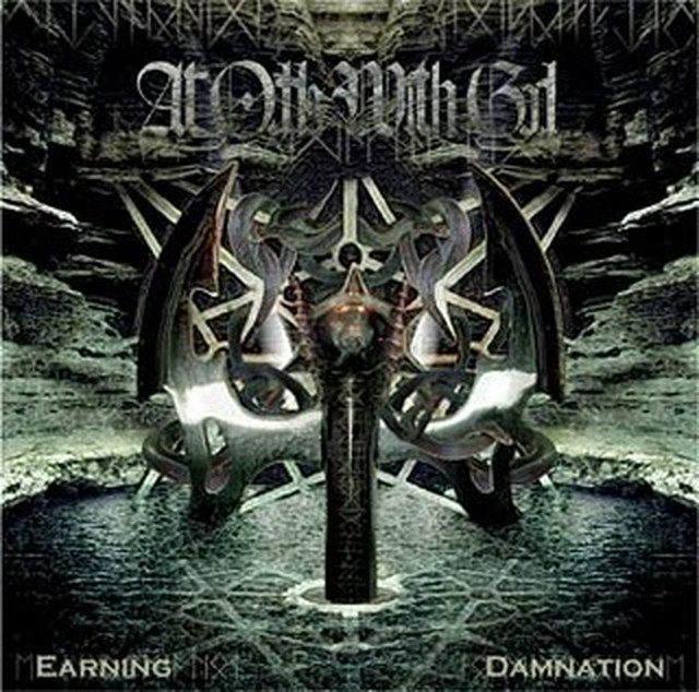 【USED】At Odds With God / Earning Damnation