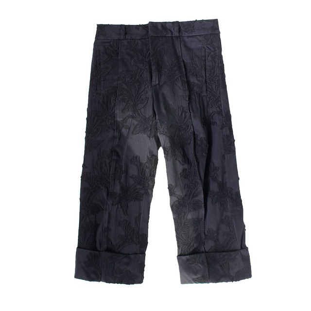 ANN DEMULEMEESTER Cropped Trousers