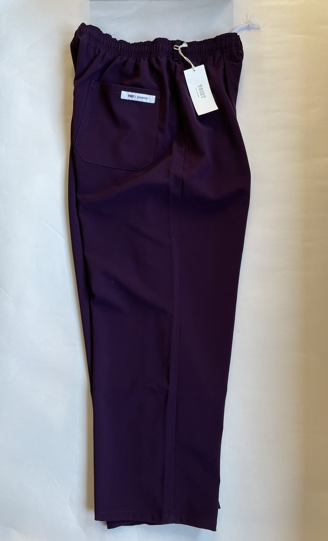 VOIRY VP SCHOOL PANTS-B DARK PURPLE