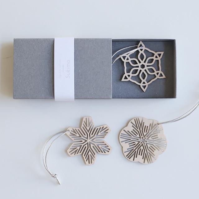snow ornament mini set / 雪のオーナメント小3個セット