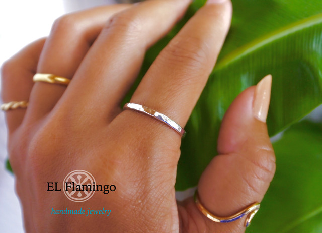 EL Flamingo Ring / SILVER
