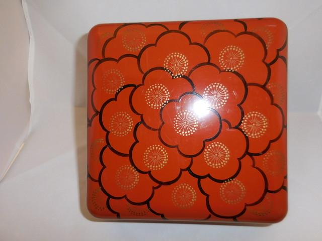 梅漆一段重 lacquer ware lacquer ware box(plum)