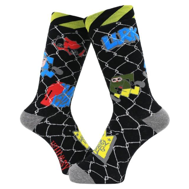 【Whimsy Socks】STANG LURK SOCKS
