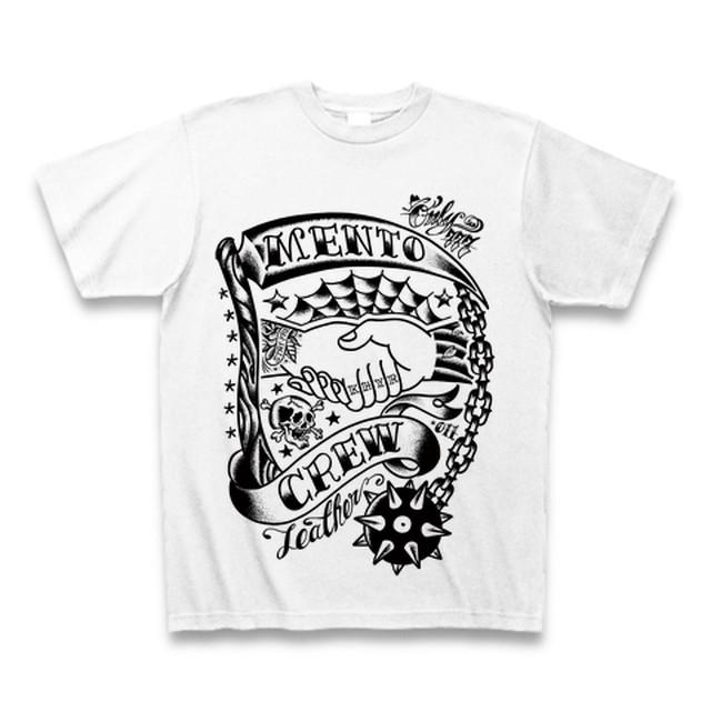 MENTO CREW Tシャツ①【ホワイト】