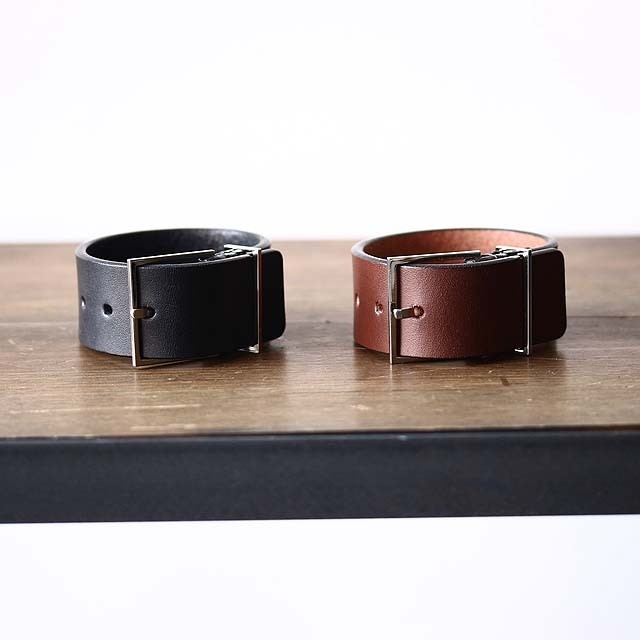 【THE Dallas】 Double Buckle Bangle