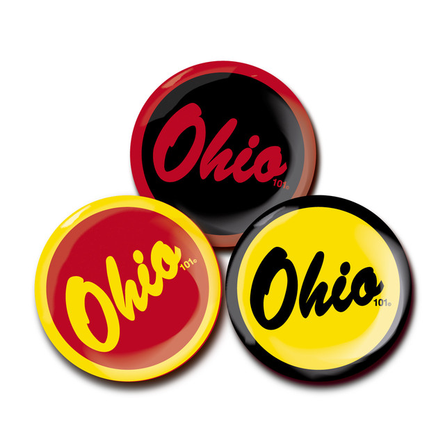 OHIO101 LOGO magnet SET