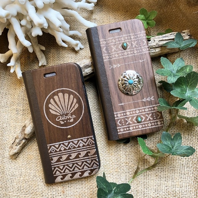 WOOD iPhone ケース(shell)