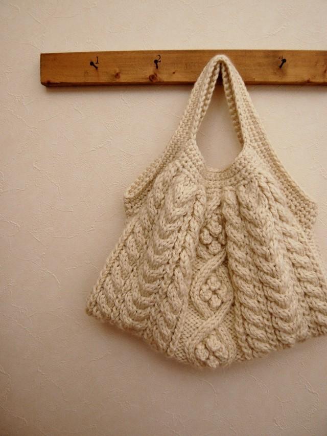 [編み図]セーターアレンジもできる♪ かのこ編みの2wayカーディガン