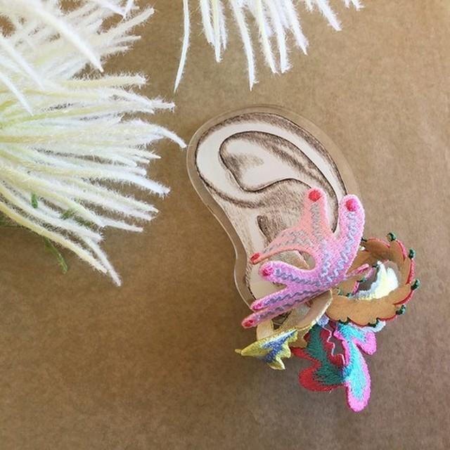 【ARRO】Wetland ピアス pink