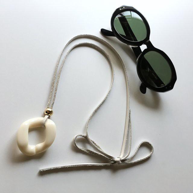 Glasses /Sunglasses holder for unisex (White)