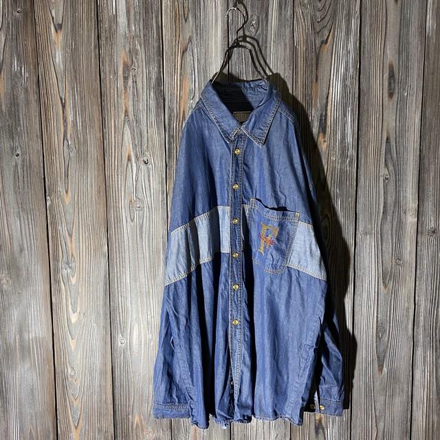[used]farnese design denim shirt