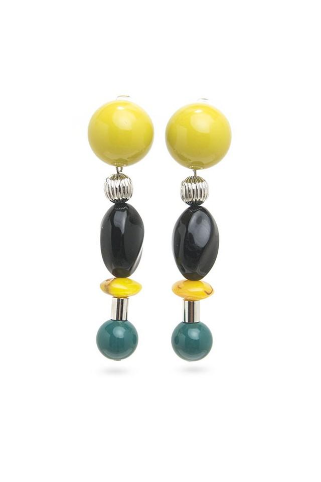 Candy Ball Earrings | YELLOW