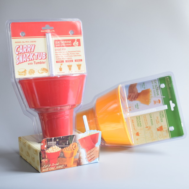 CARRY SNACK TUB WITH TUMBLER  キャリー スナック タブ ウィズ タンブラー