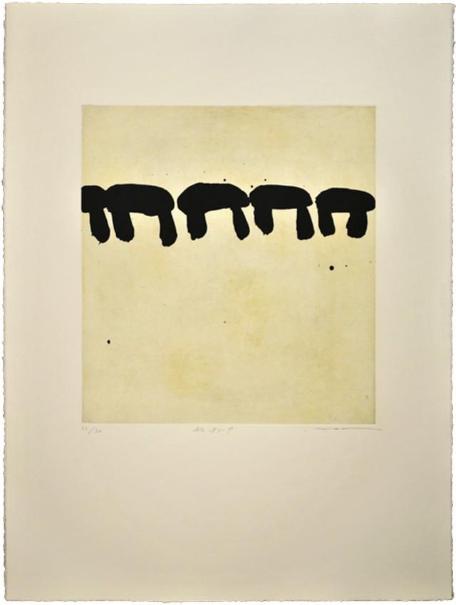 周豪 ZHOU Hao  /etching / No.183-f  フレーム付き
