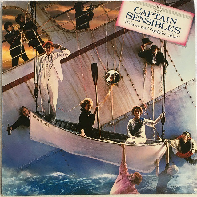 【LP・米盤】Captain Sensible / Women and Captains First