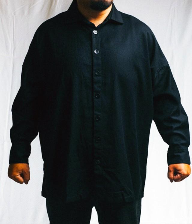 CASEY CASEY - Wool chemise tym(oversized) - 11HC 105